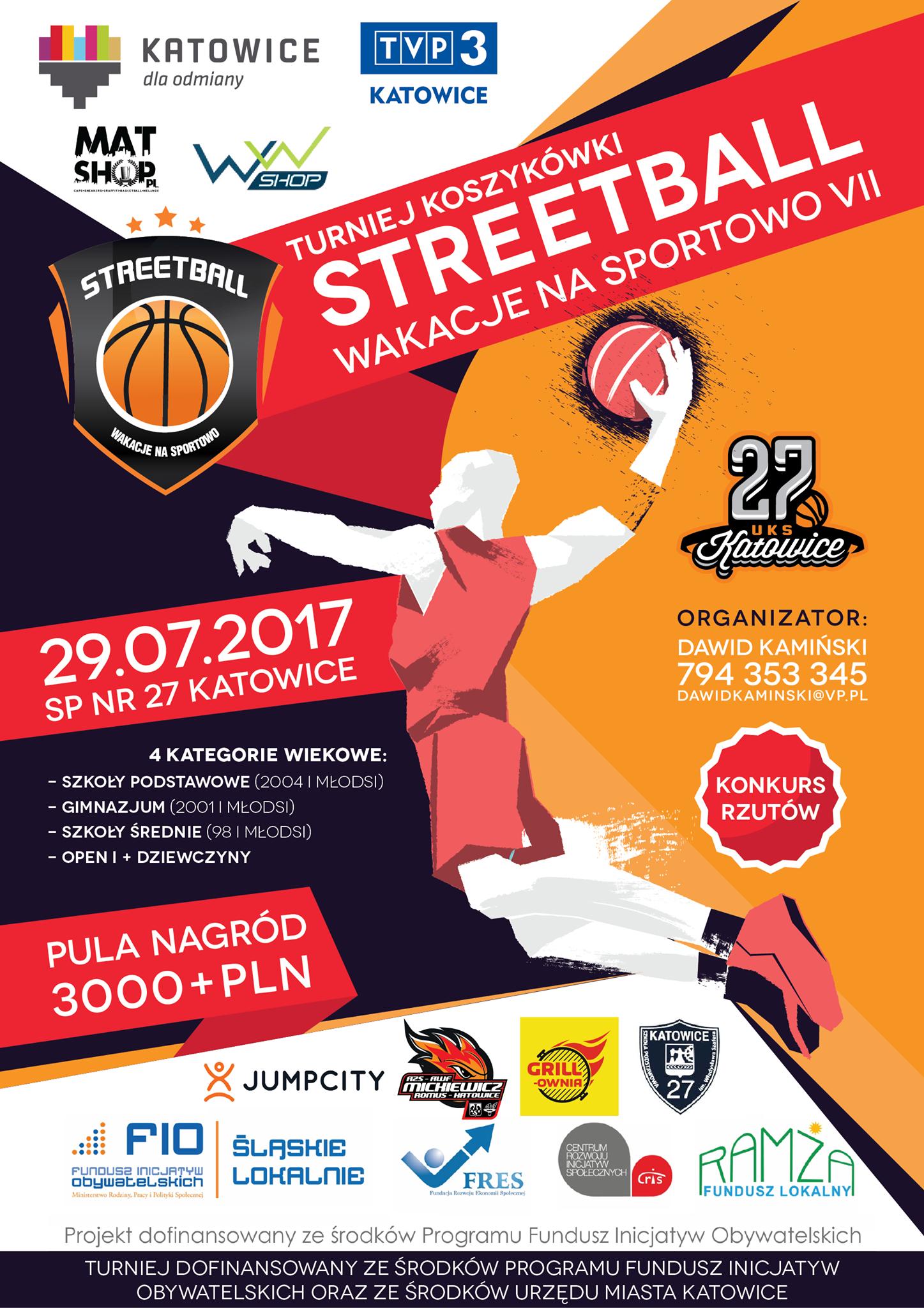 Streetball Wakacje na Sportowo VII