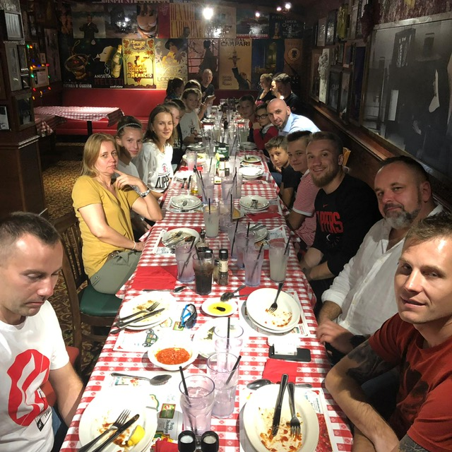 obiad z Marcinem Gortatem