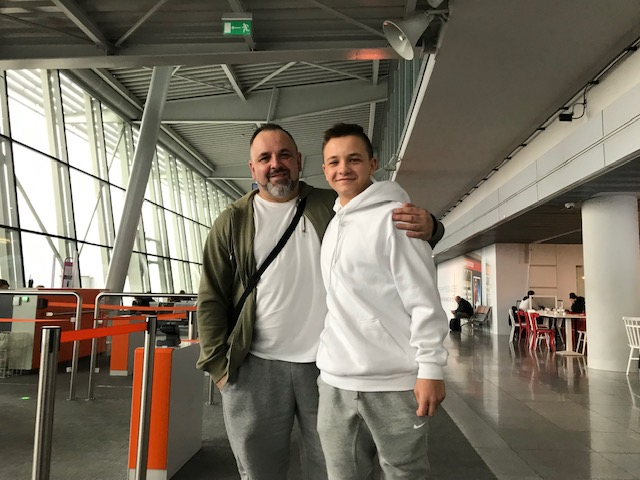 wyjazd do LA lotnisko Warszawa Okęcie