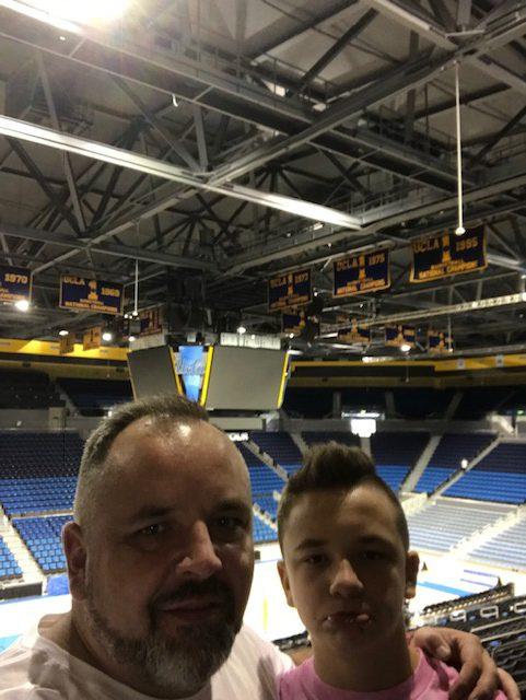 Hala sportowa w UCLA